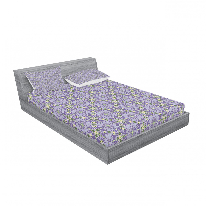 thumbnail 163 - Ambesonne-Mandala-Fitted-Sheet-Pillow-Sham-Set-Bedding-Decor-in-4-Sizes