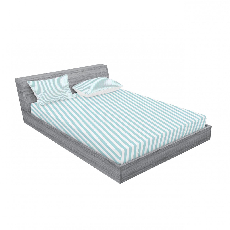 thumbnail 187 - Ambesonne Modern Design Fitted Sheet Pillow Sham Set Bedding Decor in 4 Sizes