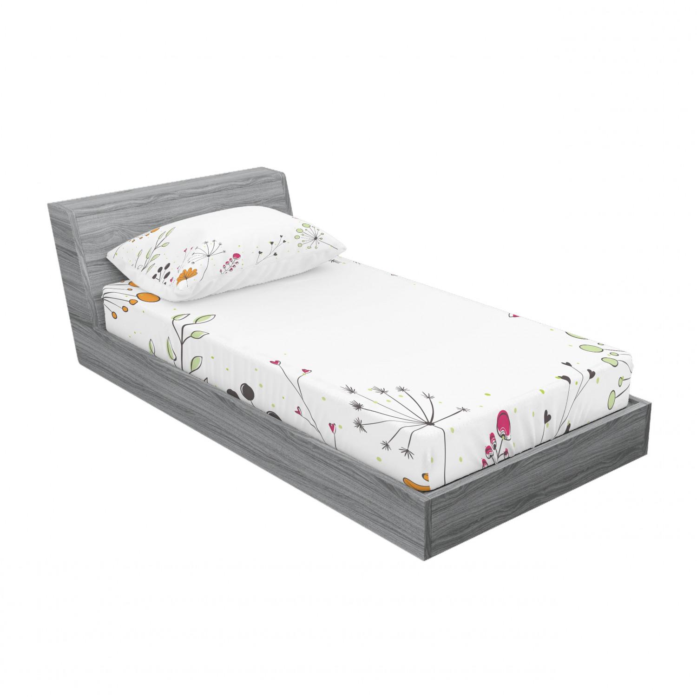 thumbnail 69 - Ambesonne Modern Design Fitted Sheet Pillow Sham Set Bedding Decor in 4 Sizes