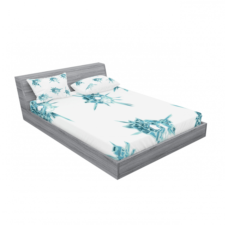 thumbnail 39 - Ambesonne Modern Design Fitted Sheet Pillow Sham Set Bedding Decor in 4 Sizes