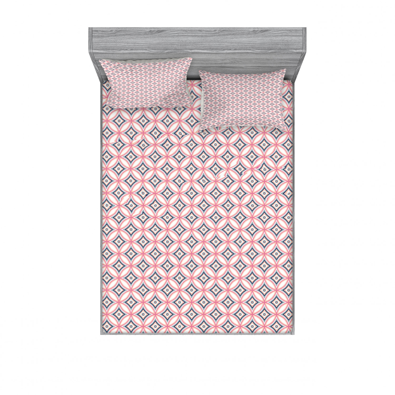 thumbnail 102 - Ambesonne-Mandala-Fitted-Sheet-Pillow-Sham-Set-Bedding-Decor-in-4-Sizes
