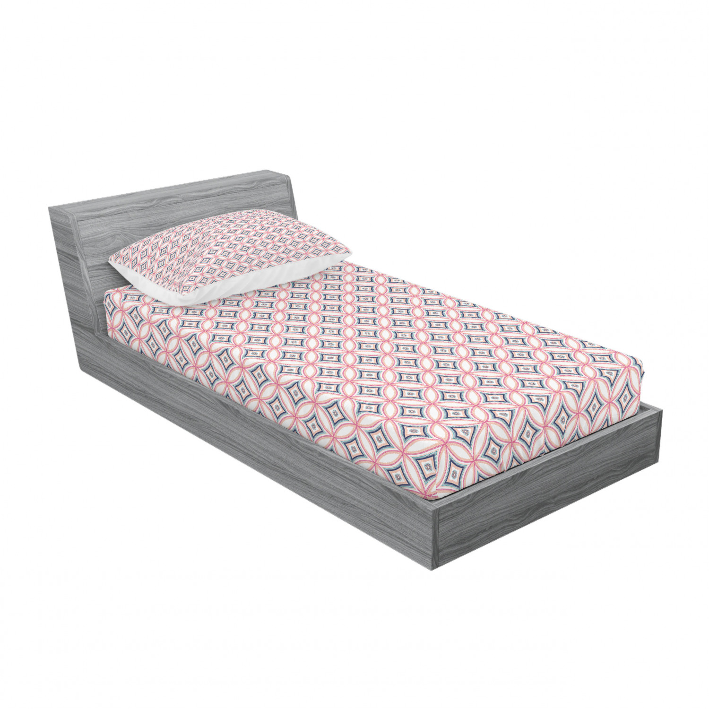 thumbnail 101 - Ambesonne-Mandala-Fitted-Sheet-Pillow-Sham-Set-Bedding-Decor-in-4-Sizes