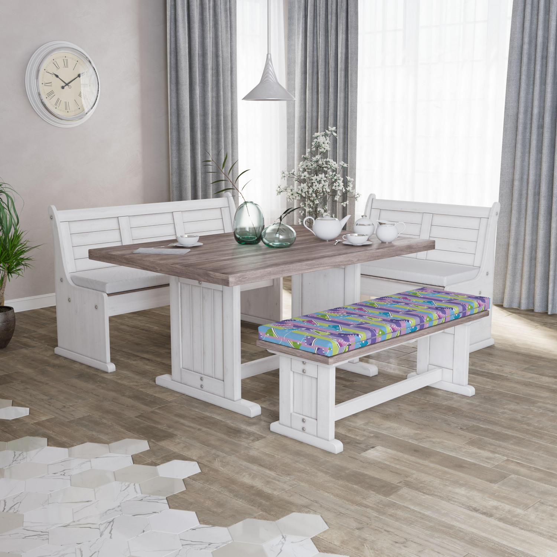 Ambesonne-Retro-Scene-Bench-Pad-HR-Foam-with-Fabric-Cover-45-034-x-15-034-x-2-034 miniatuur 187