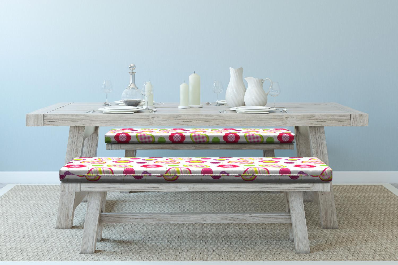 Ambesonne-Retro-Scene-Bench-Pad-HR-Foam-with-Fabric-Cover-45-034-x-15-034-x-2-034 miniatuur 158
