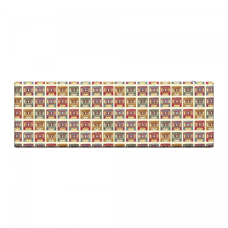 Ambesonne-Retro-Scene-Bench-Pad-HR-Foam-with-Fabric-Cover-45-034-x-15-034-x-2-034 miniatuur 129