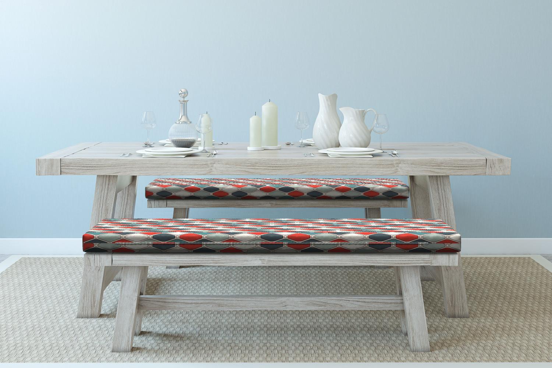 Ambesonne-Retro-Scene-Bench-Pad-HR-Foam-with-Fabric-Cover-45-034-x-15-034-x-2-034 miniatuur 98