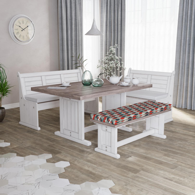 Ambesonne-Retro-Scene-Bench-Pad-HR-Foam-with-Fabric-Cover-45-034-x-15-034-x-2-034 miniatuur 99