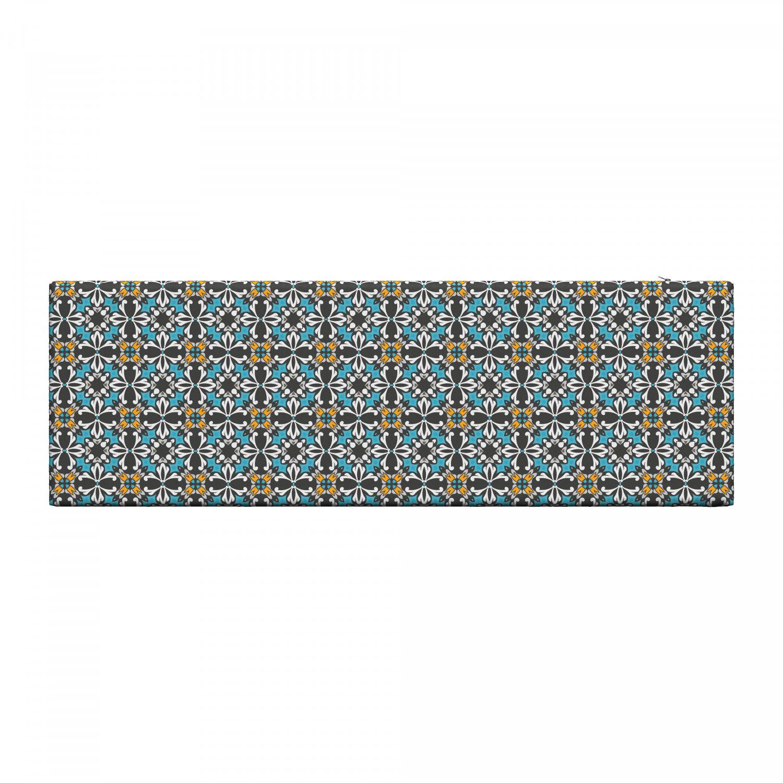 Ambesonne-Retro-Scene-Bench-Pad-HR-Foam-with-Fabric-Cover-45-034-x-15-034-x-2-034 miniatuur 5