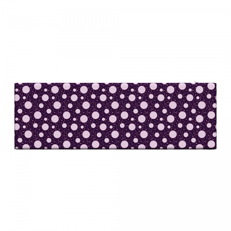 Ambesonne-Retro-Scene-Bench-Pad-HR-Foam-with-Fabric-Cover-45-034-x-15-034-x-2-034 miniatuur 45