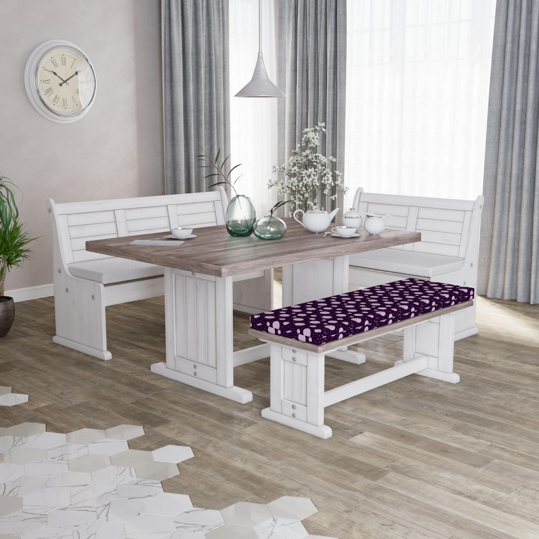 Ambesonne-Retro-Scene-Bench-Pad-HR-Foam-with-Fabric-Cover-45-034-x-15-034-x-2-034 miniatuur 47
