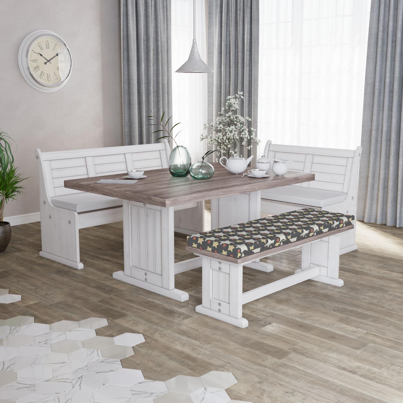 Ambesonne-Retro-Scene-Bench-Pad-HR-Foam-with-Fabric-Cover-45-034-x-15-034-x-2-034 miniatuur 27