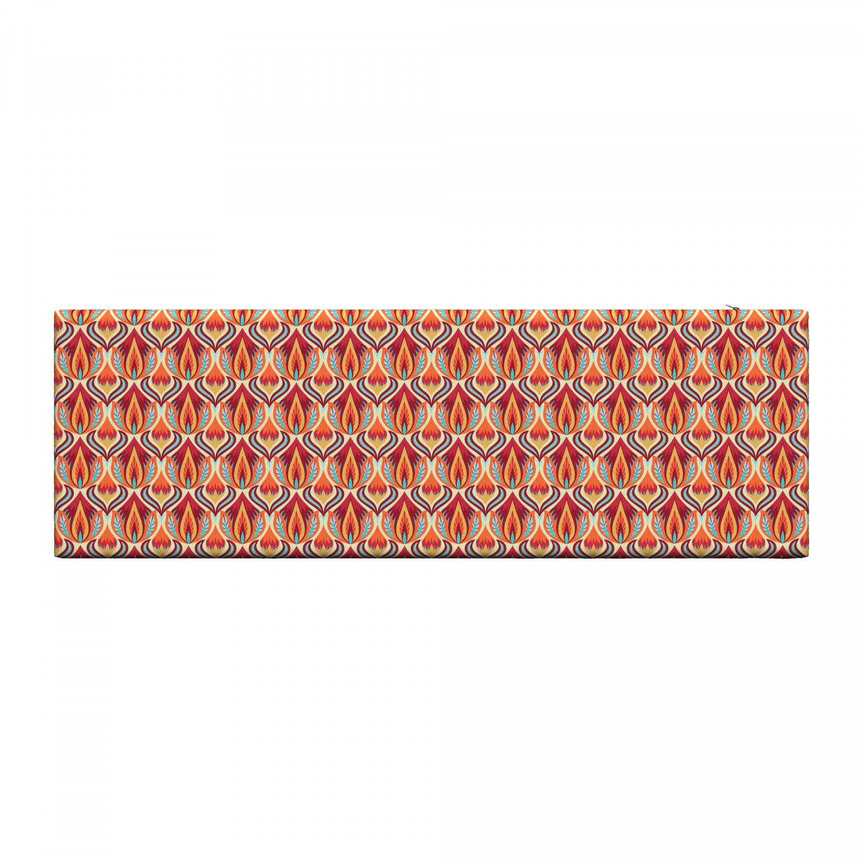 Ambesonne-Retro-Scene-Bench-Pad-HR-Foam-with-Fabric-Cover-45-034-x-15-034-x-2-034 miniatuur 177