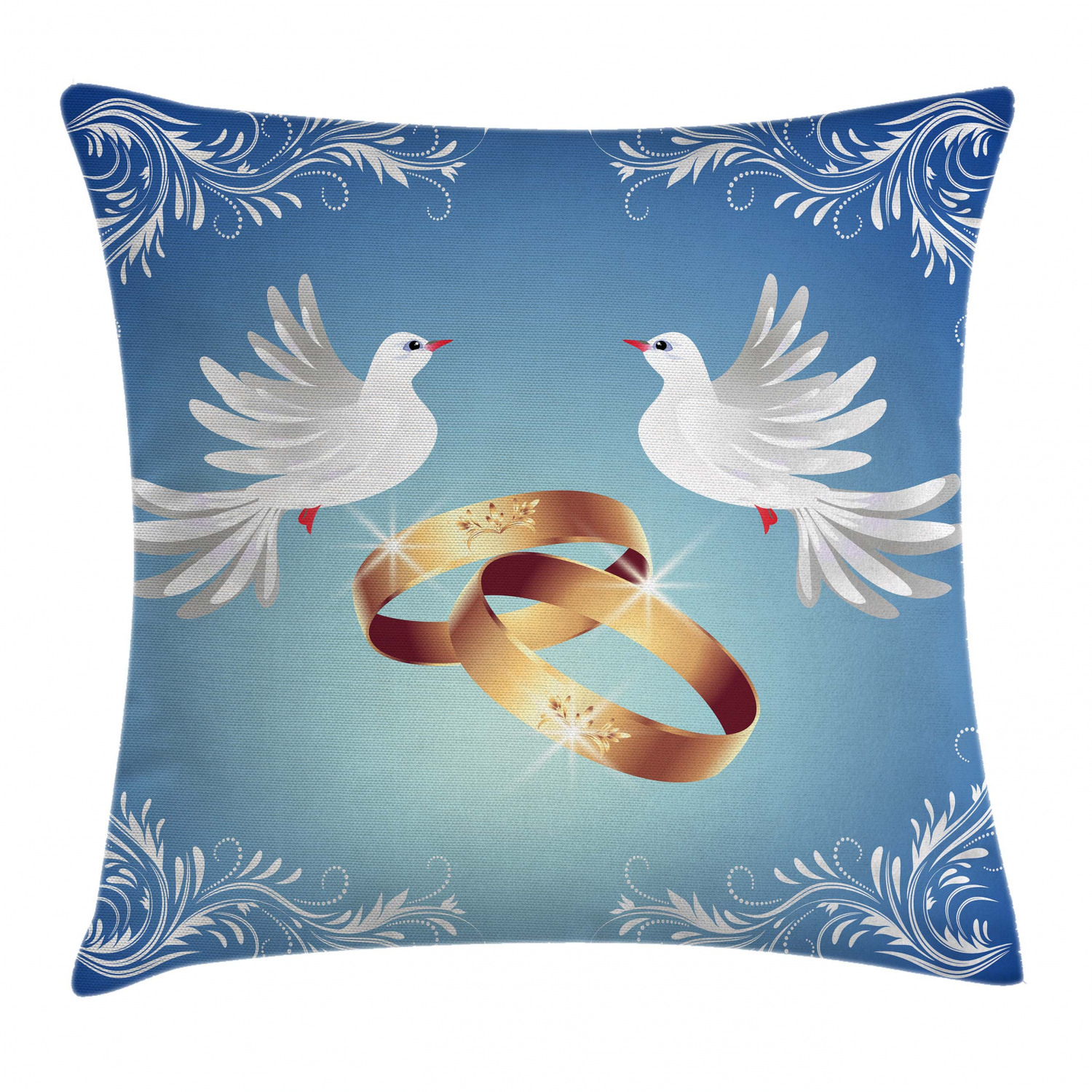 Wedding Pattern Throw Pillow Cases Cushion Covers Home
