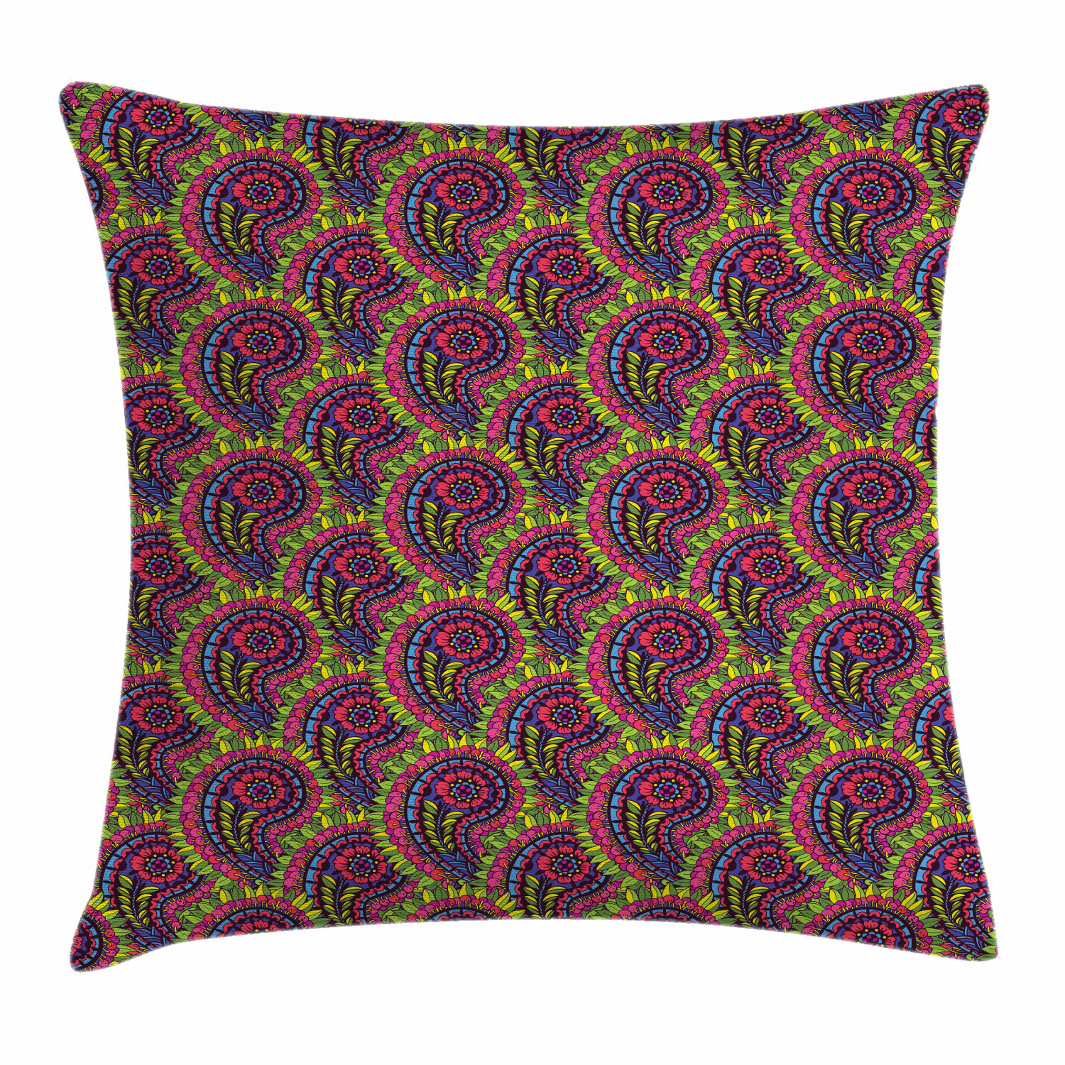 Persian Floral Throw Pillow Cases Cushion Covers Home