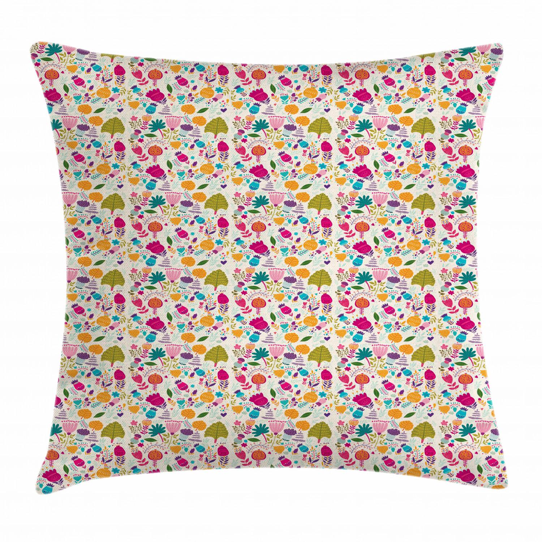 Spring Season Throw Pillow Cases Cushion Covers Home Decor 8 Sizes