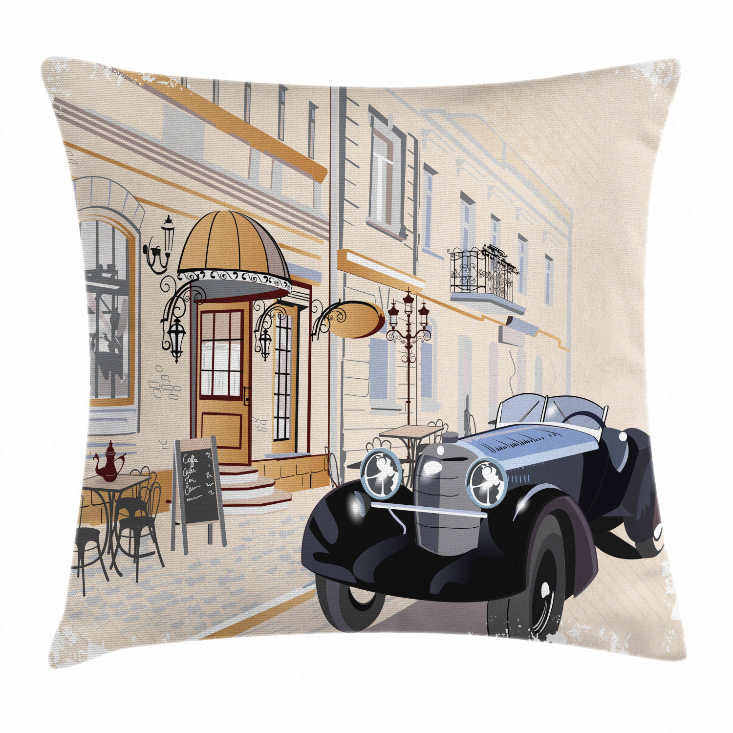 Nostalgic Design Throw Pillow Cases Cushion Covers Home