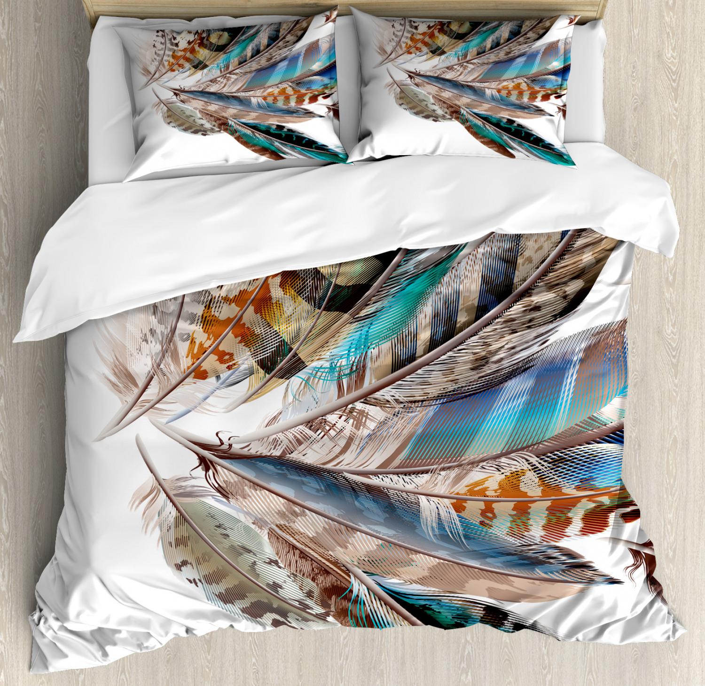 animal duvet cover set with pillow shams