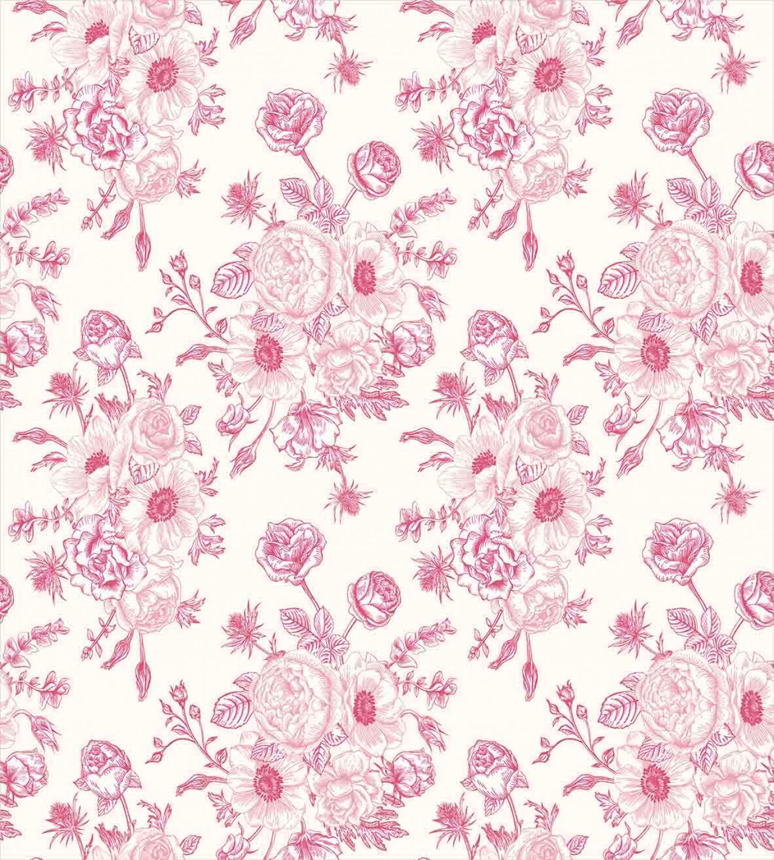 Floral-Duvet-Cover-Set-with-Pillow-Shams-Romantic-Rose-Flowers-Print thumbnail 3