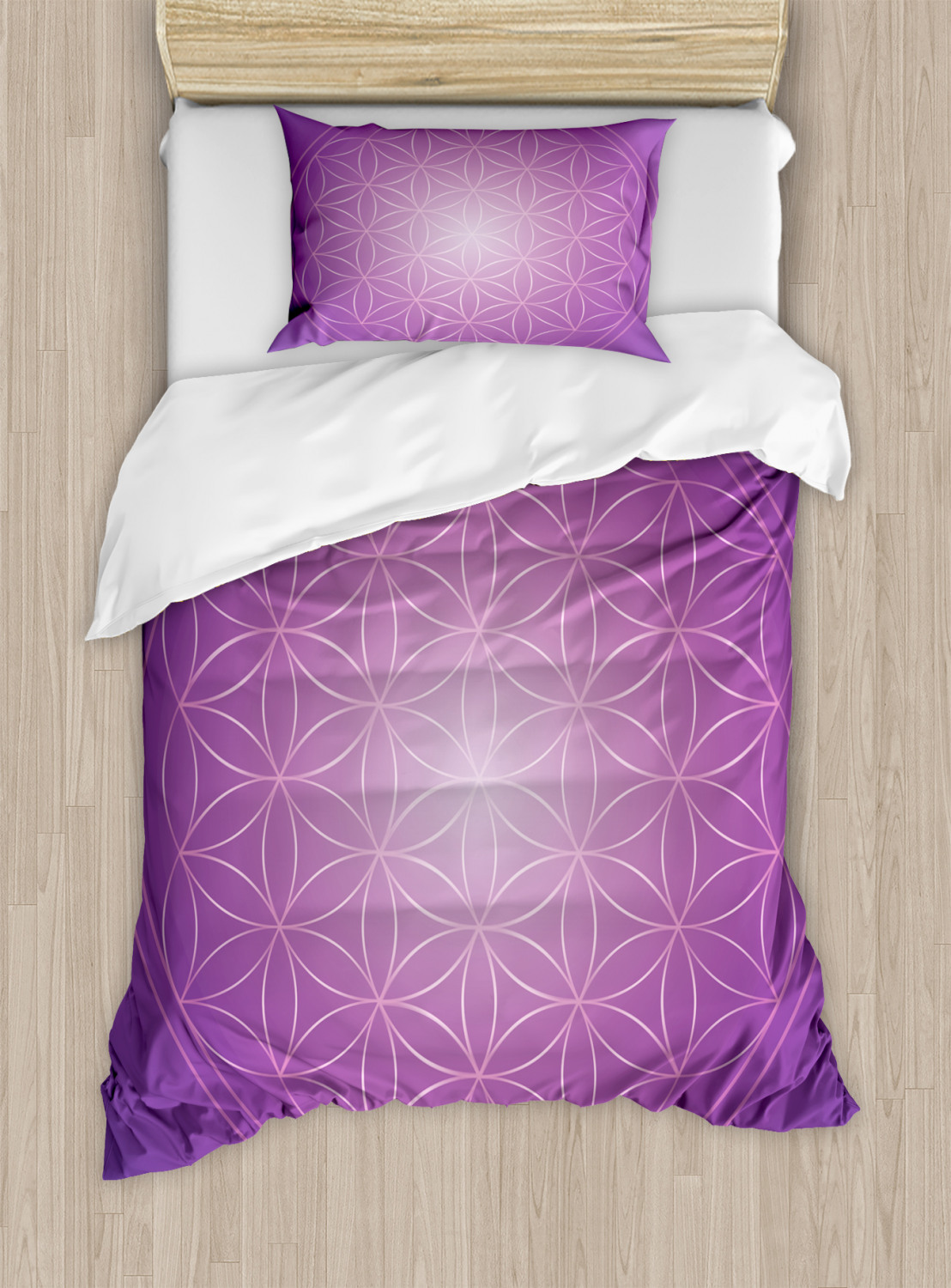 Flower-of-Life-Duvet-Cover-Set-Twin-Queen-King-Sizes-with-Pillow-Shams thumbnail 28