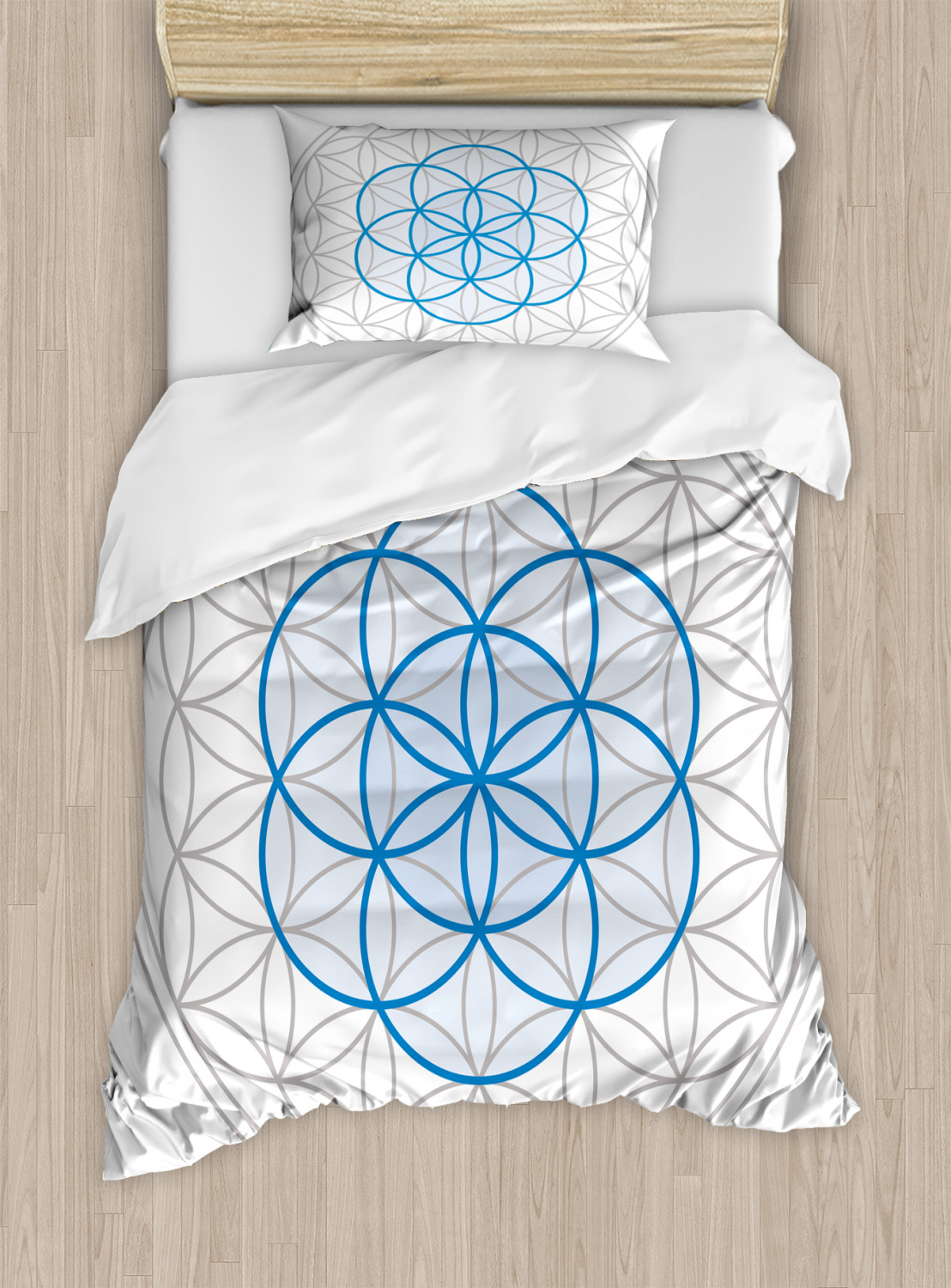Flower-of-Life-Duvet-Cover-Set-Twin-Queen-King-Sizes-with-Pillow-Shams thumbnail 37