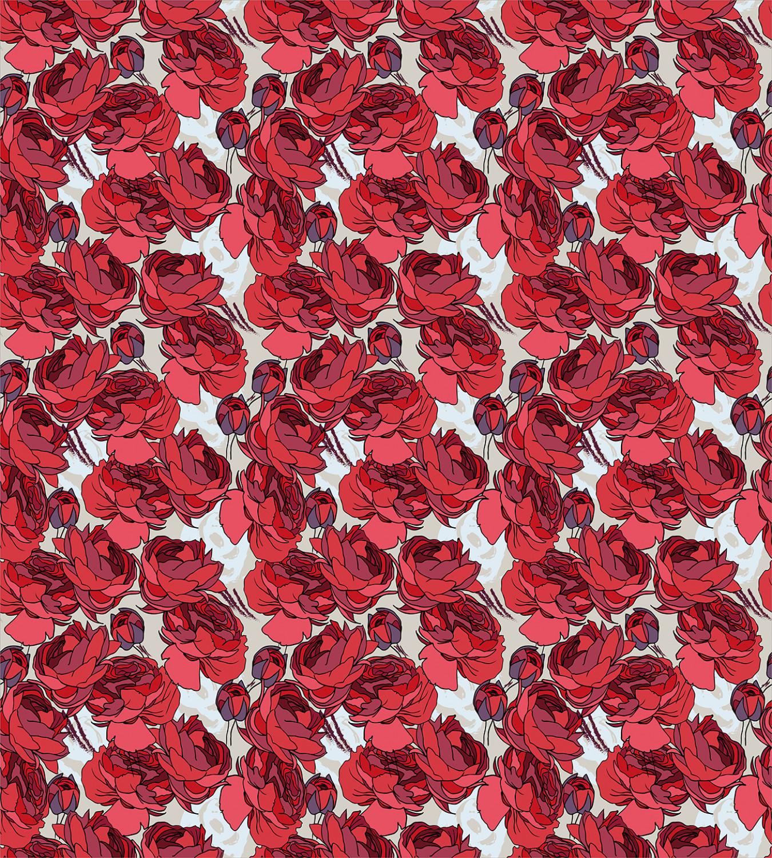 Floral Duvet Cover Set With Pillow Shams Vibrant Roses Bouquet Print For Sale Online
