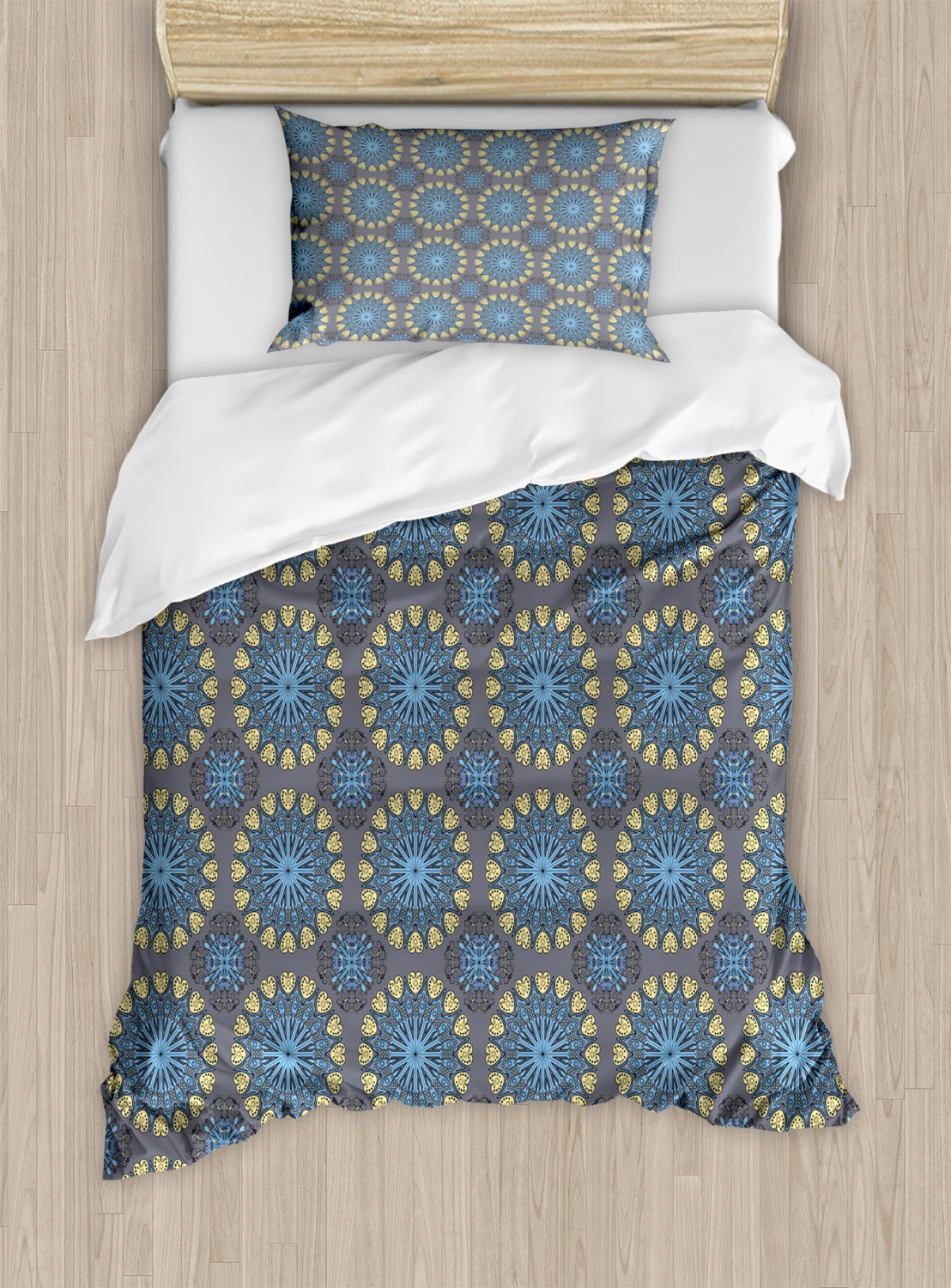 bohemian ethnic duvet cover set twin queen king sizes with pillow shams ebay. Black Bedroom Furniture Sets. Home Design Ideas