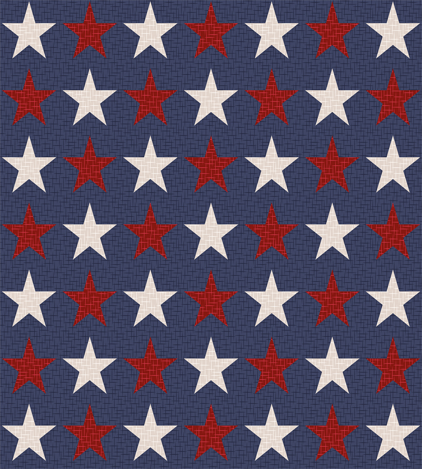 Primitive-Country-Duvet-Cover-Set-with-Pillow-Shams-US-Freedom-Print thumbnail 3