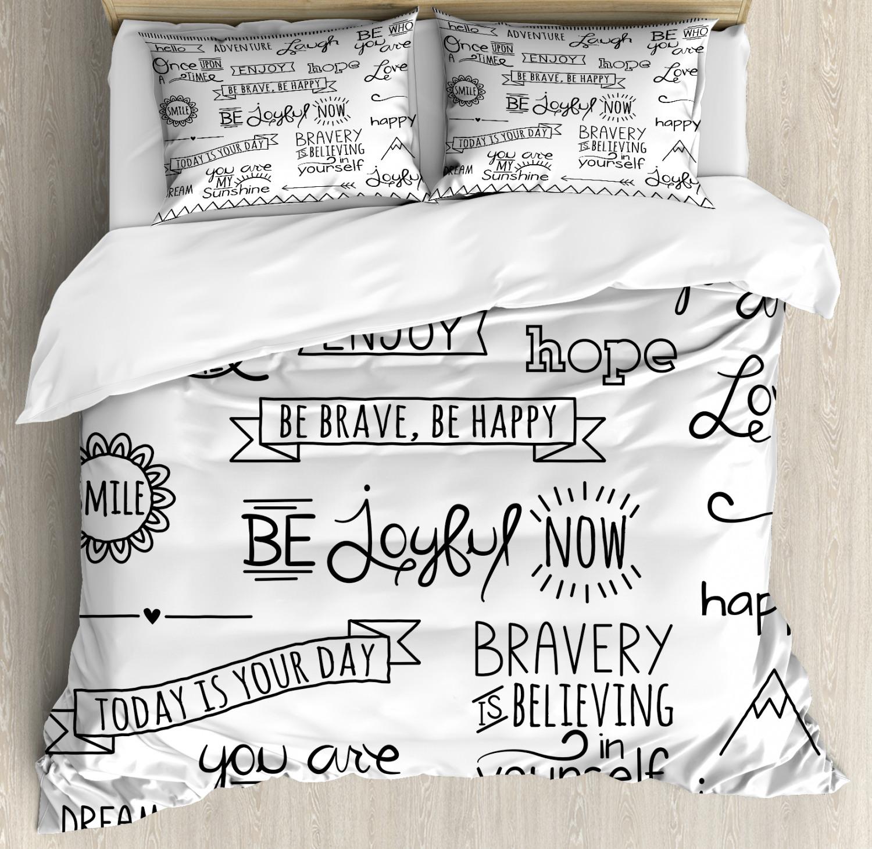Adventure Duvet Cover Set with Pillow Shams Various Happy Qu