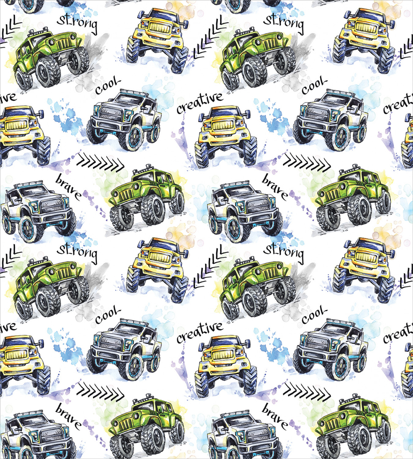 Colorful-Cars-Duvet-Cover-Set-Twin-Queen-King-Sizes-with-Pillow-Shams-Bedding miniature 89