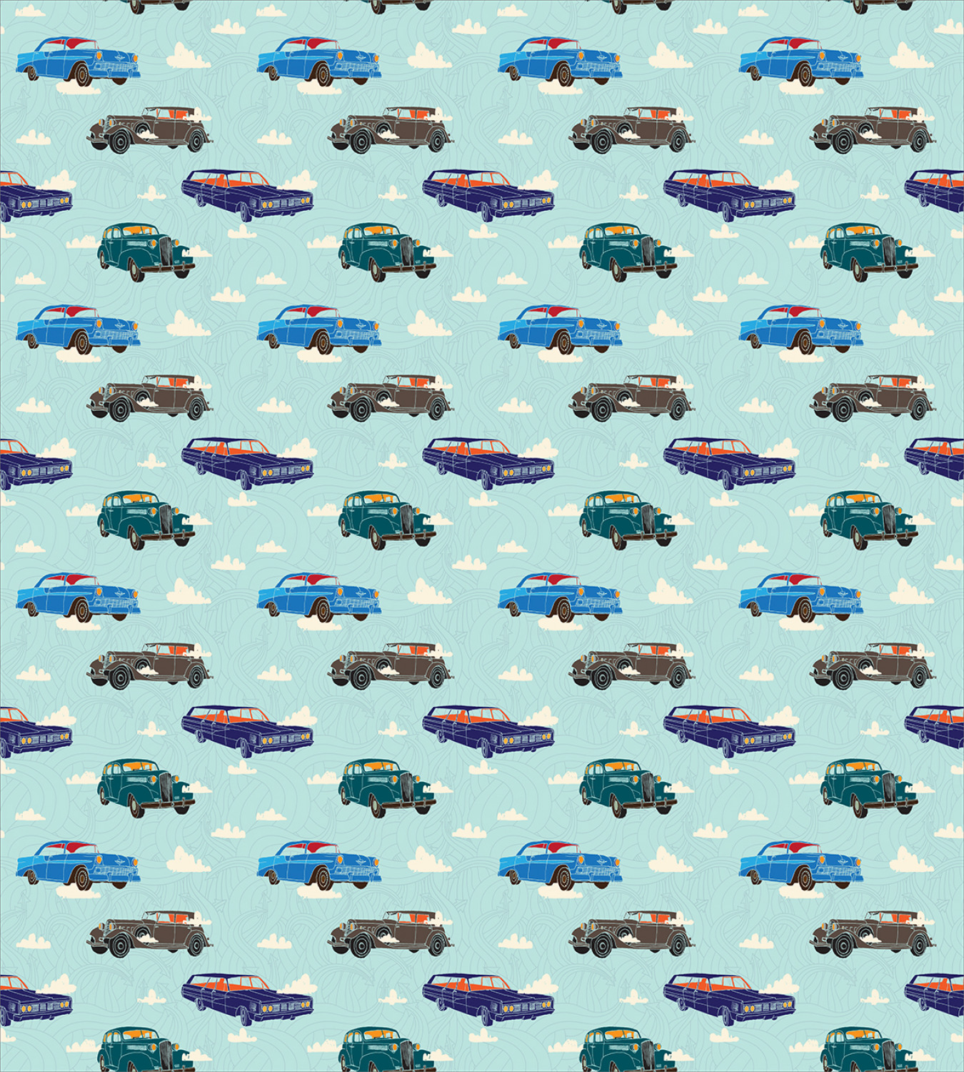Colorful-Cars-Duvet-Cover-Set-Twin-Queen-King-Sizes-with-Pillow-Shams-Bedding miniature 65