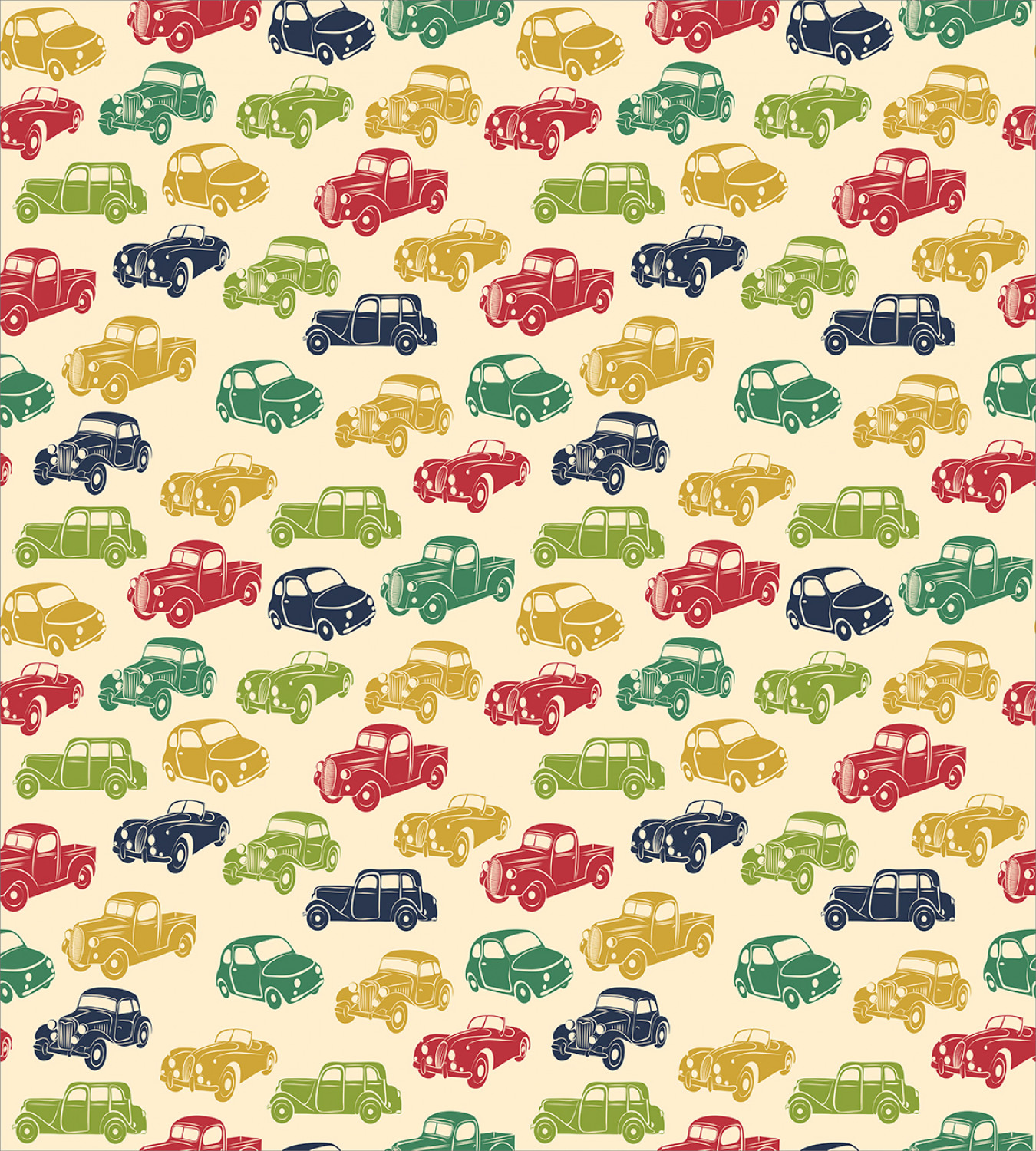 Colorful-Cars-Duvet-Cover-Set-Twin-Queen-King-Sizes-with-Pillow-Shams-Bedding miniature 26