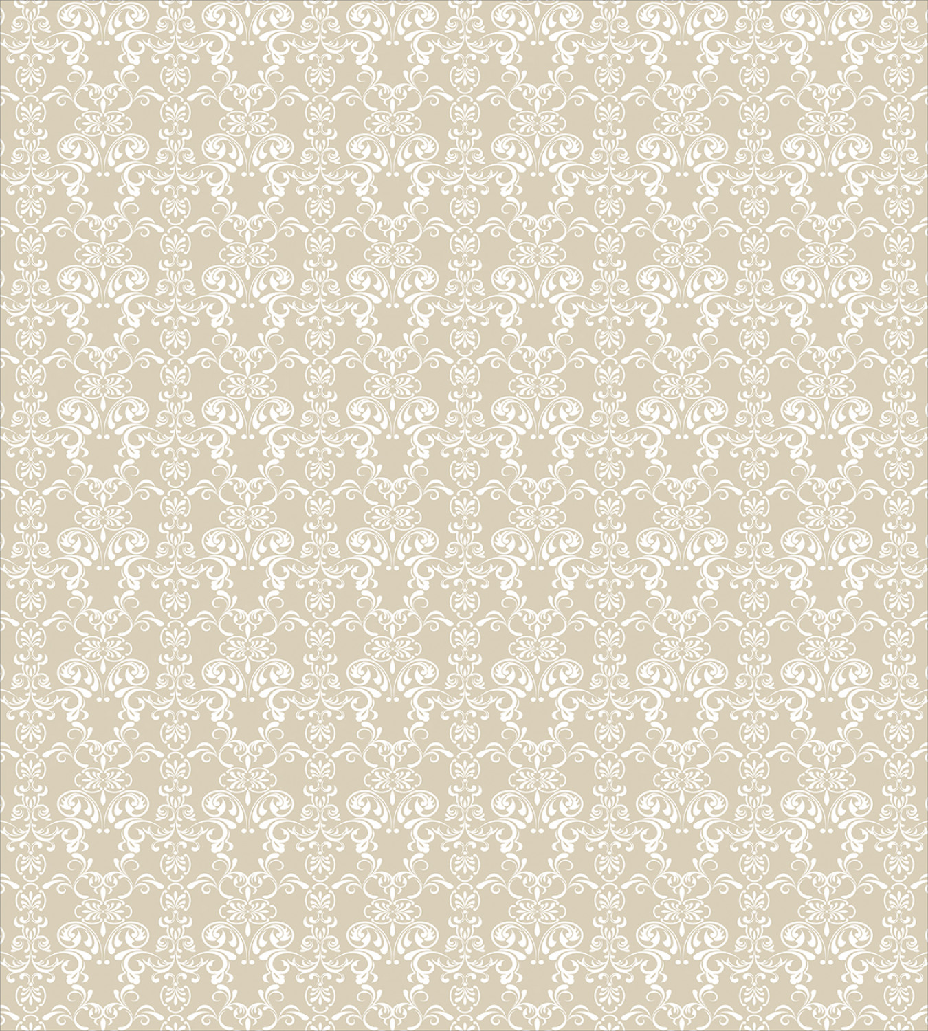 Beige-Duvet-Cover-Set-with-Pillow-Shams-Traditional-Lace-Design-Print thumbnail 3