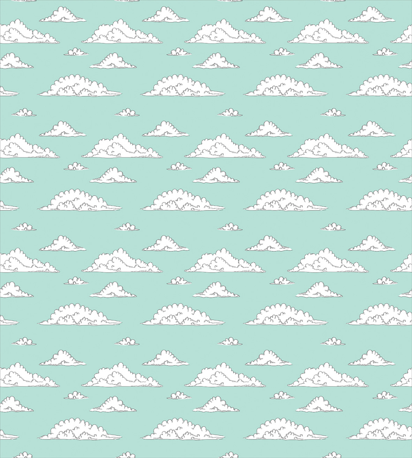 Teal-and-White-Duvet-Cover-Set-Twin-Queen-King-Sizes-with-Pillow-Shams-Ambesonne thumbnail 9