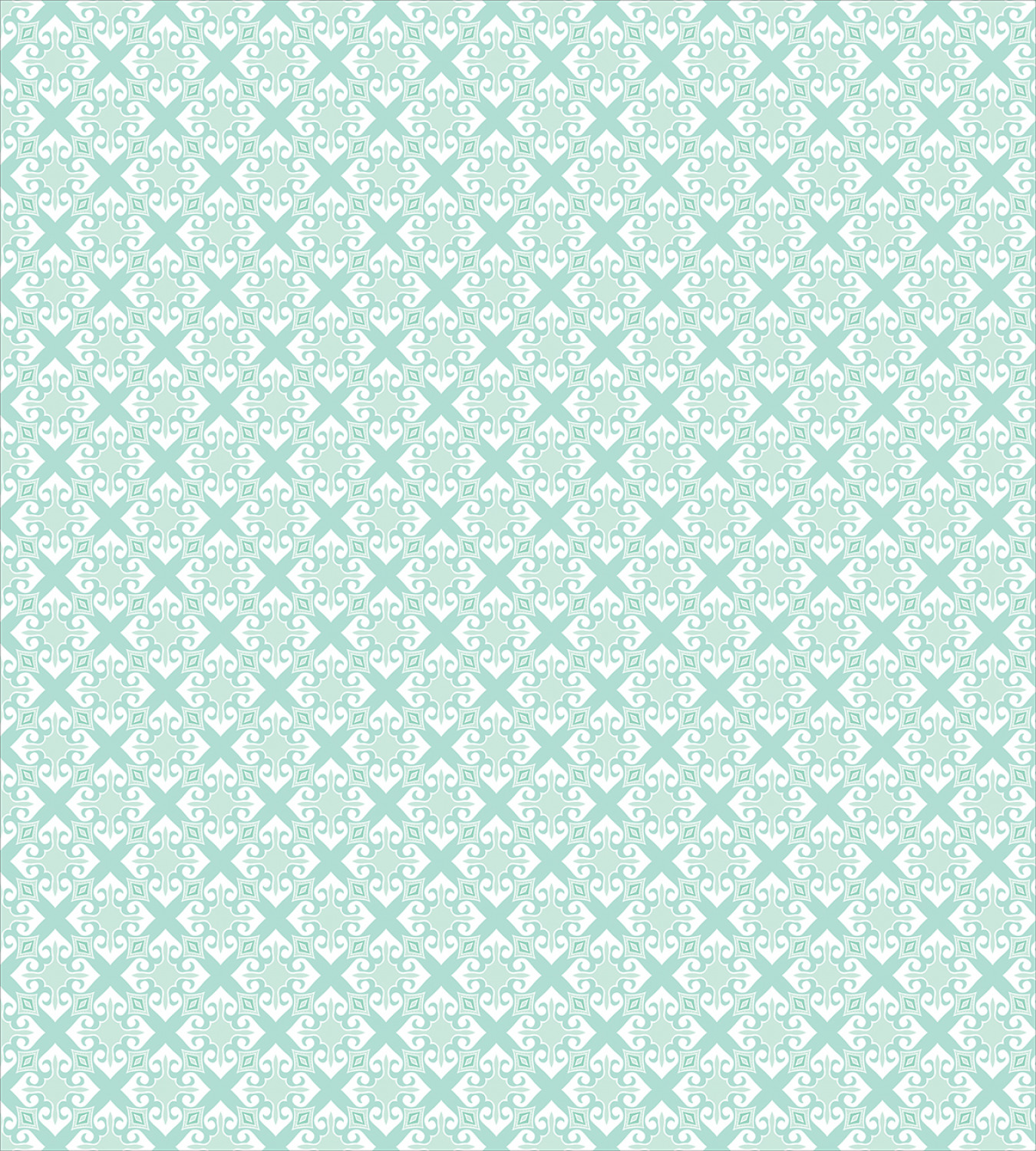 Teal-and-White-Duvet-Cover-Set-Twin-Queen-King-Sizes-with-Pillow-Shams-Ambesonne thumbnail 6