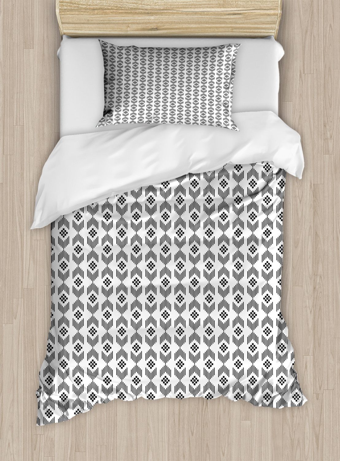 Timeless-Oriental-Duvet-Cover-Set-Twin-Queen-King-Sizes-with-Pillow-Shams thumbnail 10