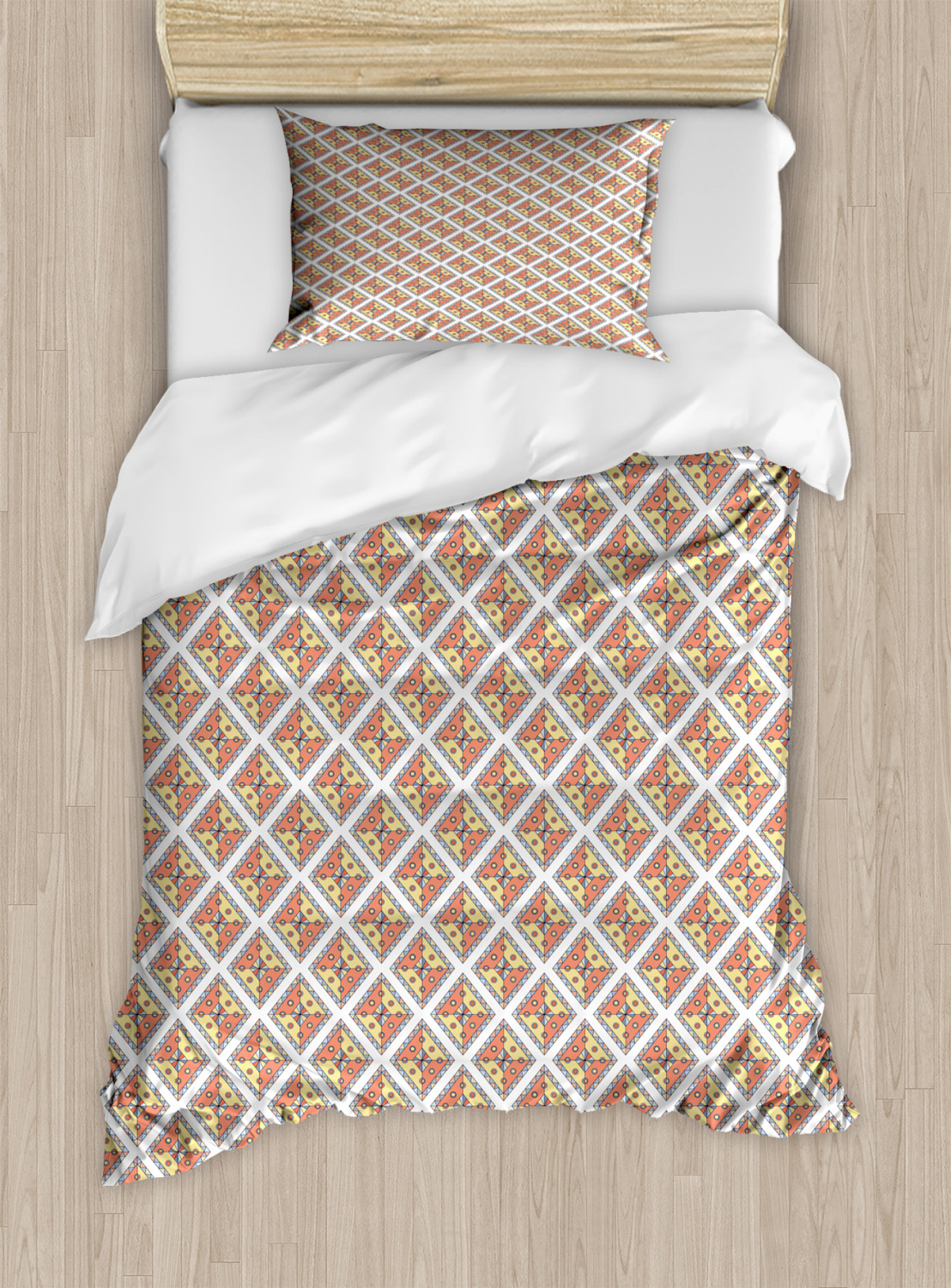 Timeless-Oriental-Duvet-Cover-Set-Twin-Queen-King-Sizes-with-Pillow-Shams thumbnail 46