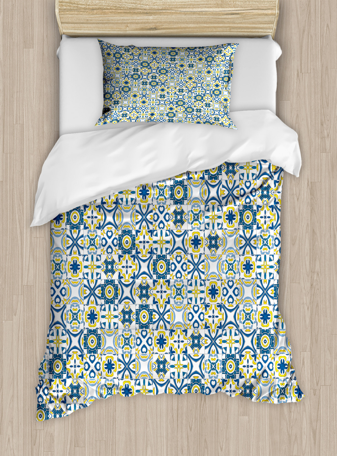Timeless-Oriental-Duvet-Cover-Set-Twin-Queen-King-Sizes-with-Pillow-Shams thumbnail 61