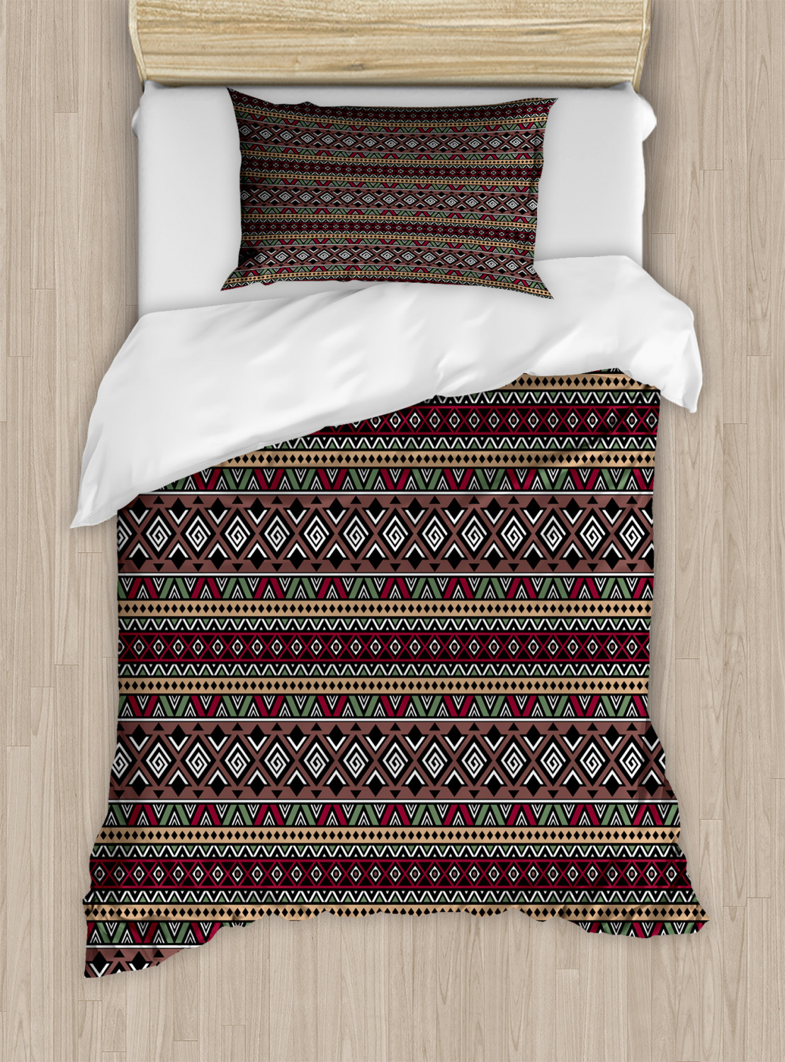 Timeless-Oriental-Duvet-Cover-Set-Twin-Queen-King-Sizes-with-Pillow-Shams thumbnail 55