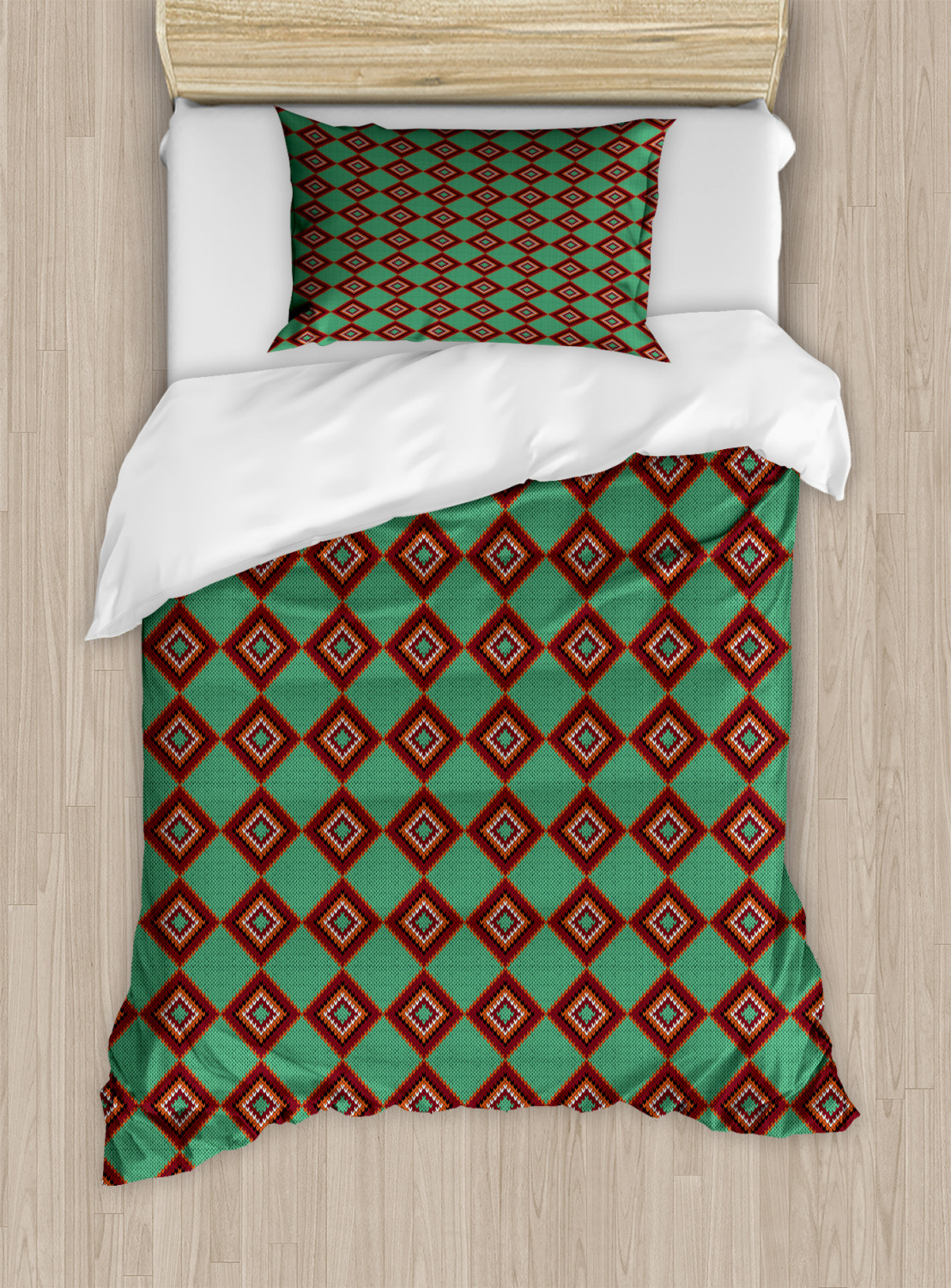 Timeless-Oriental-Duvet-Cover-Set-Twin-Queen-King-Sizes-with-Pillow-Shams thumbnail 43