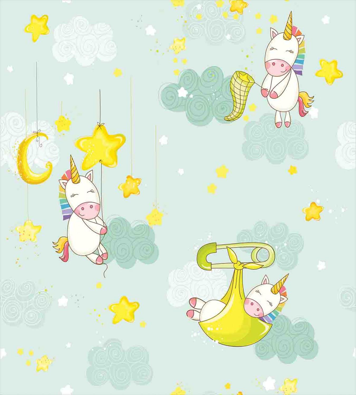 Unicorn-Duvet-Cover-Set-Twin-Queen-King-Sizes-with-Pillow-Shams-Bedding-Decor thumbnail 80