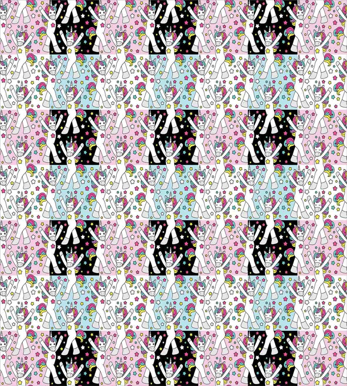 Unicorn-Duvet-Cover-Set-Twin-Queen-King-Sizes-with-Pillow-Shams-Bedding-Decor thumbnail 5