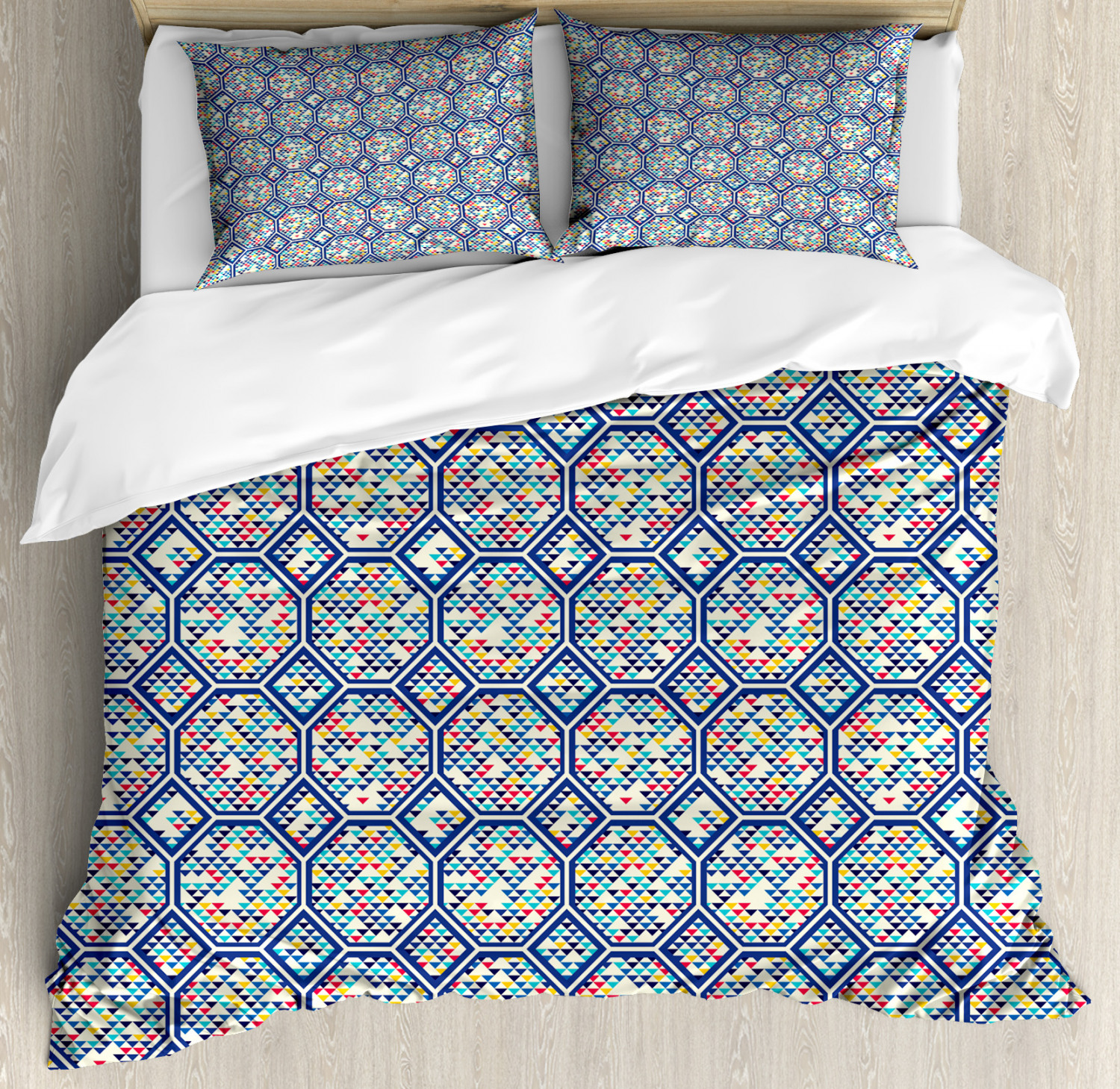 Primary Colors Duvet Cover Set Twin Queen King Sizes With