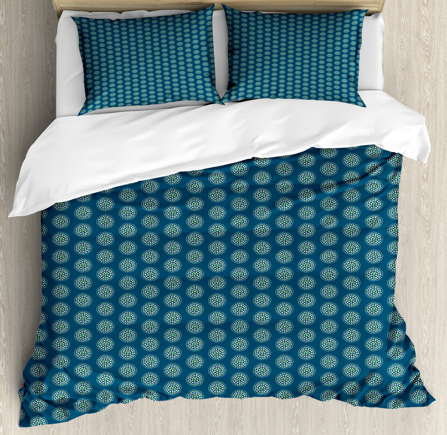 Geometric Pattern Duvet Cover Set Twin Queen King Sizes