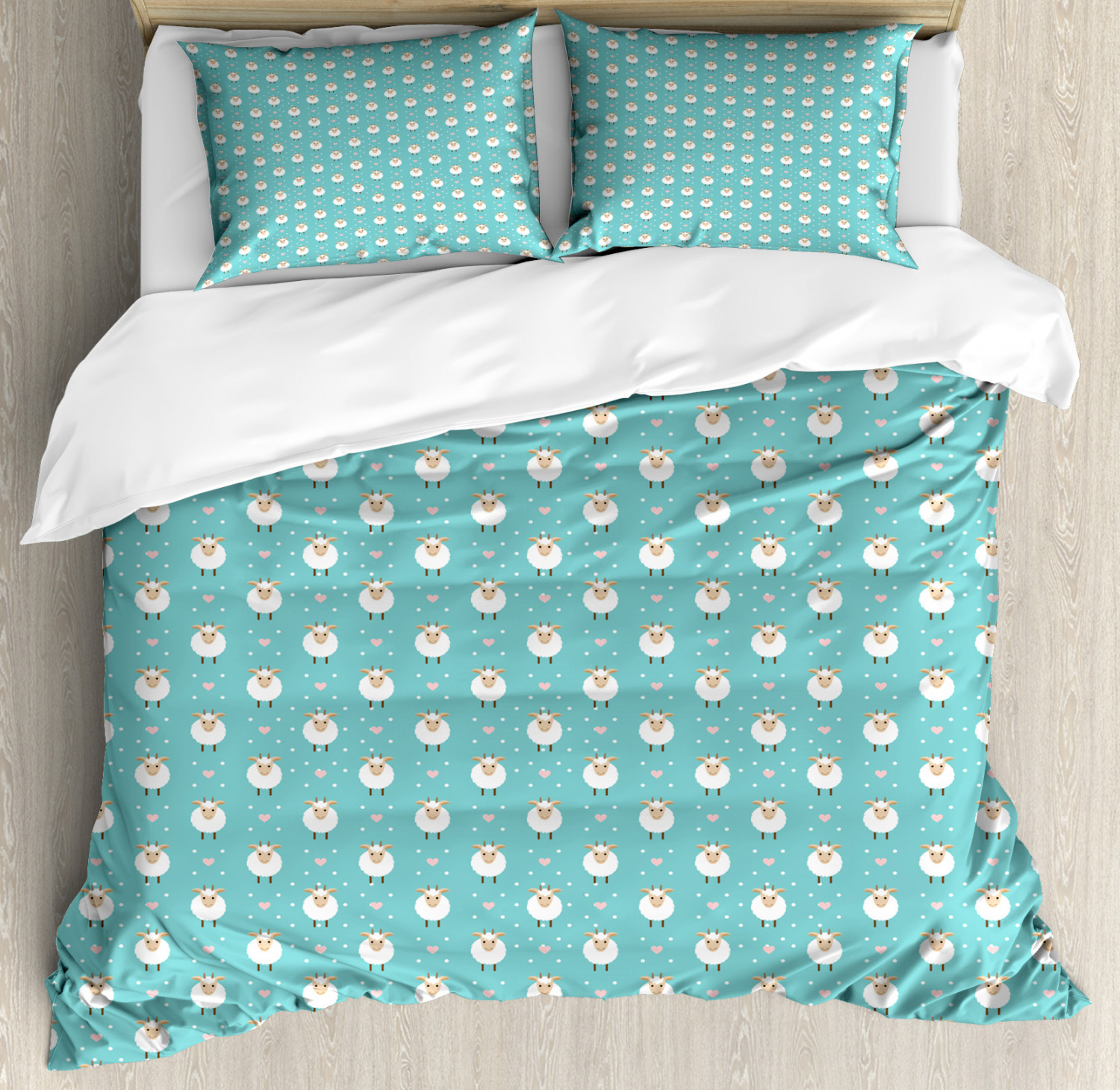 goat duvet cover set twin queen king sizes with pillow shams ebay. Black Bedroom Furniture Sets. Home Design Ideas