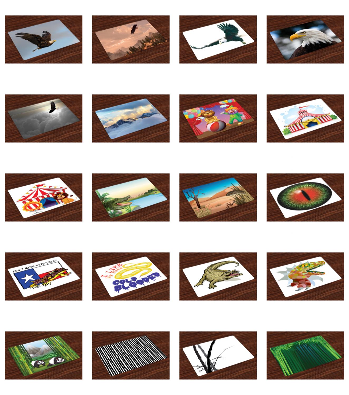 place mats set of 4 fabric placemats