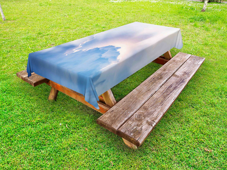 Wolke Outdoor-Tischdecke Sonnenstrahlen Himmel Wolken