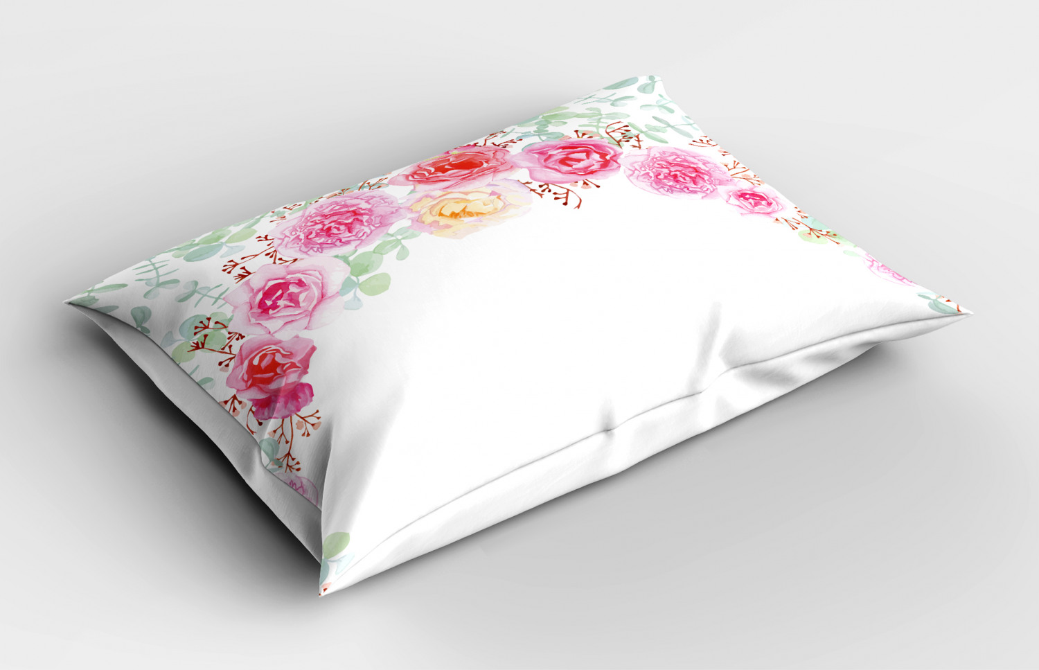 Shabby-Chic-Pillow-Sham-Decorative-Pillowcase-3-Sizes-Bedroom-Decor-Ambesonne thumbnail 21