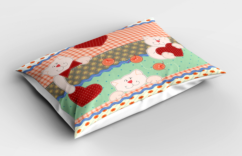 Shabby-Chic-Pillow-Sham-Decorative-Pillowcase-3-Sizes-Bedroom-Decor-Ambesonne thumbnail 45