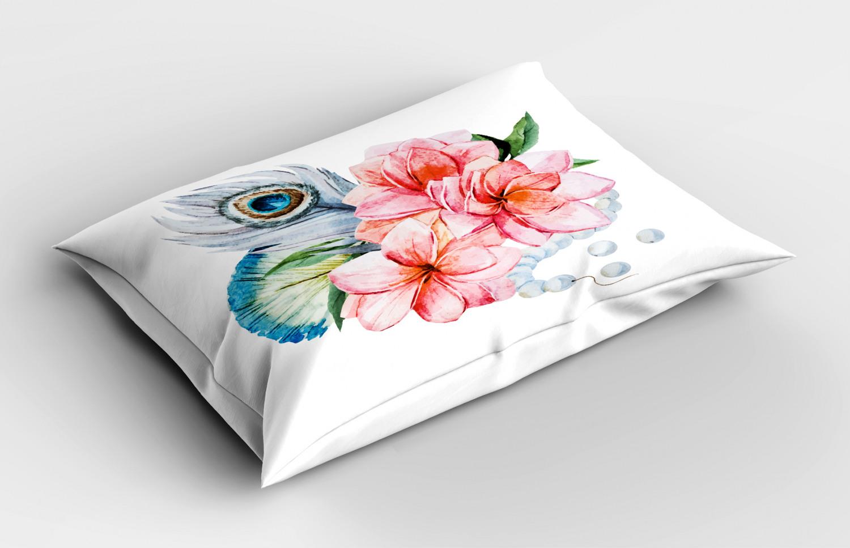 Shabby-Chic-Pillow-Sham-Decorative-Pillowcase-3-Sizes-Bedroom-Decor-Ambesonne thumbnail 37