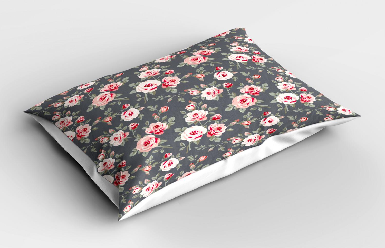Shabby-Chic-Pillow-Sham-Decorative-Pillowcase-3-Sizes-Bedroom-Decor-Ambesonne thumbnail 27